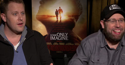 Jon and Andy Erwin | I CAN ONLY IMAGINE Press Junket